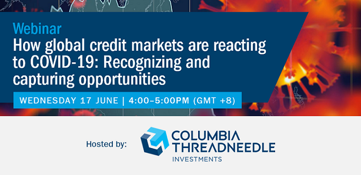 EVENT | June 17 2020 – How global credit markets are reacting to COVID-19: Recognizing and capturing opportunities